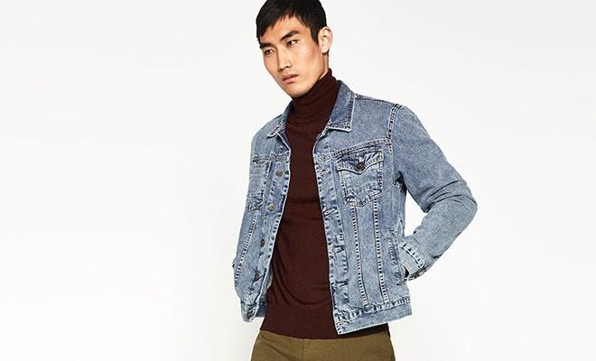 look nineties veste jeans