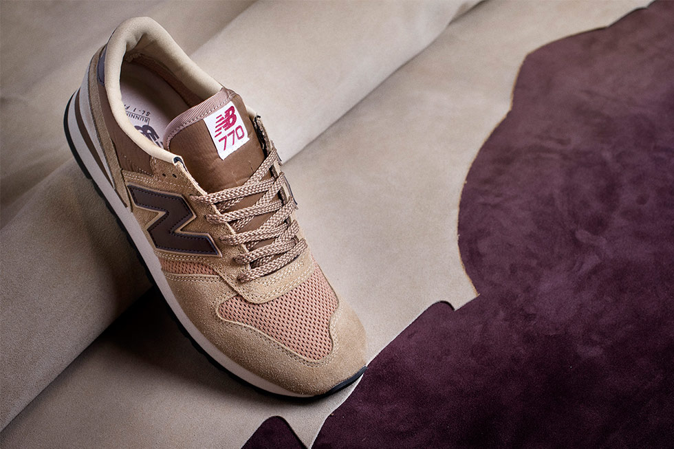 sneakers New Balance 770 beige