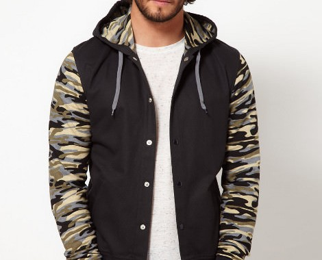 Bomber camouflage Asos