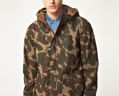 Veste camouflage Suit
