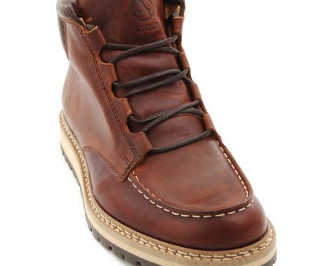 boots en cuir aigle