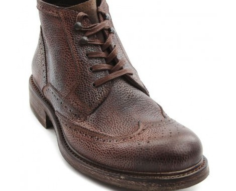 boots cuir grainé ndc made by hand
