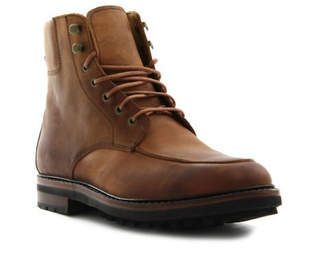 boots en cuir polo ralph lauren