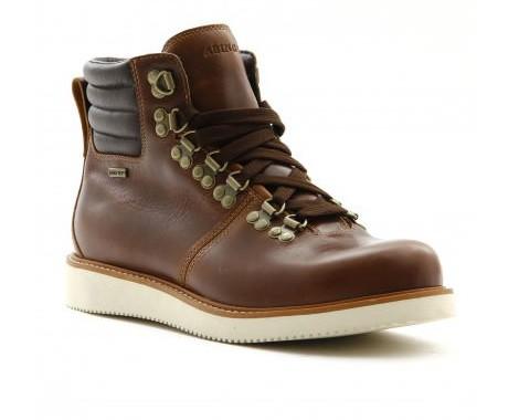 boots timberland abington cuir marron
