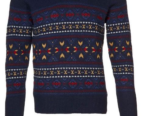 pullover motif hiver Ben Sherman