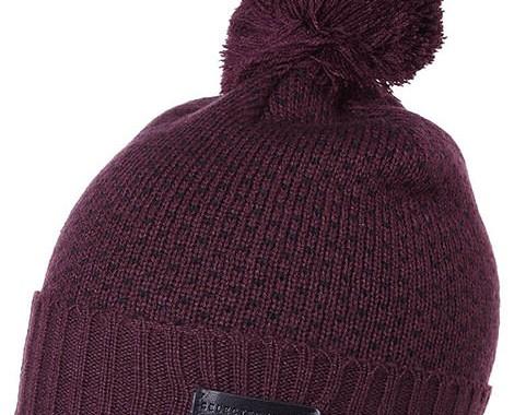 bonnet à pompon selected