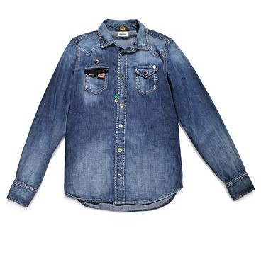 chemise en jean diesel tribute