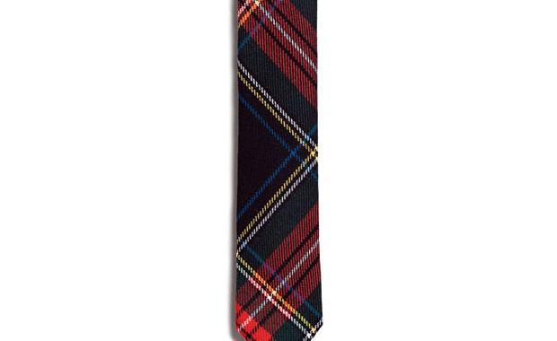 cravate tartan zara