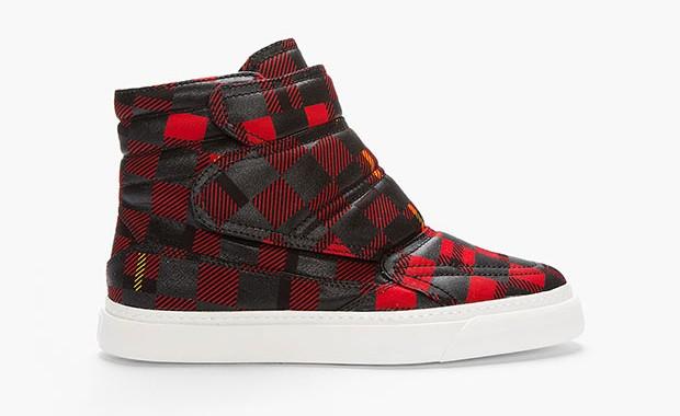 chaussure tartan alexander mcqueen