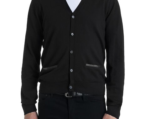 cardigan noir the kooples