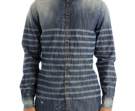 chemise denim dsquared2