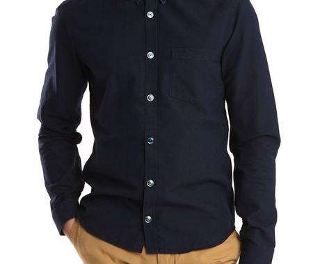 chemise bleue marine kenzo