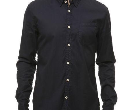 chemise bleue marine levi's
