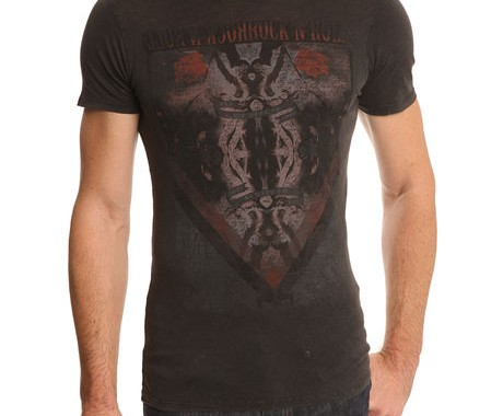 t-shirt gris revolution ikks