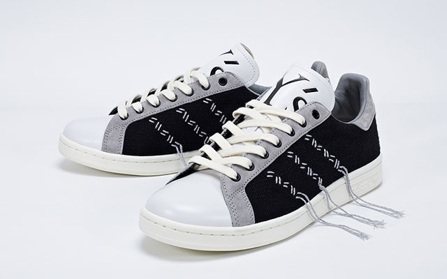 adidas originals et consortium relancent la chaussure stan smith peah. Black Bedroom Furniture Sets. Home Design Ideas