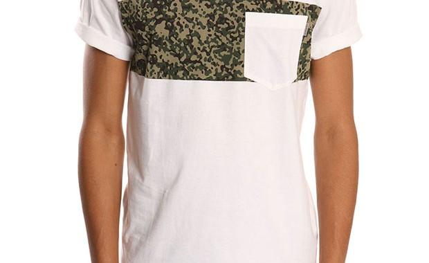 t-shirt poche camouflage homme carhartt