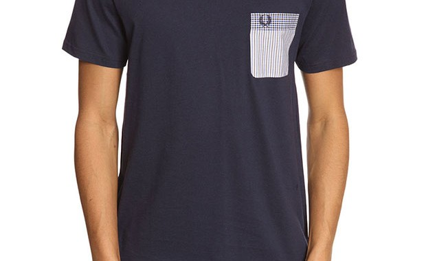t-shirt poche fred perry