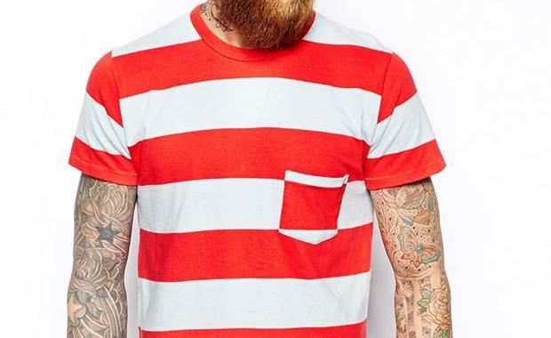 t-shirt poche levi's vintage