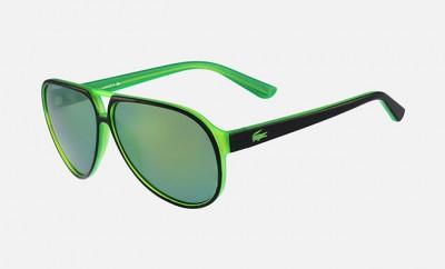 Lacoste lunettes de soleil fluo aviator