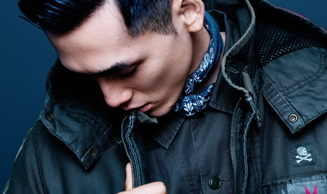 parka homme motif ikat Adidas Originals NEIGHBORHOOD