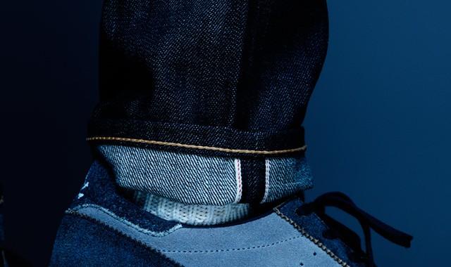 sneaker bleu Adidas Originals NEIGHBORHOOD