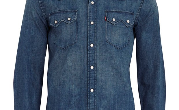 chemise swatooth western Levi's