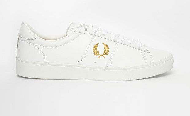 Baskets en cuir Fred Perry