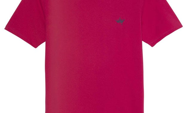 T-shirt fuchsia Vicomte A.