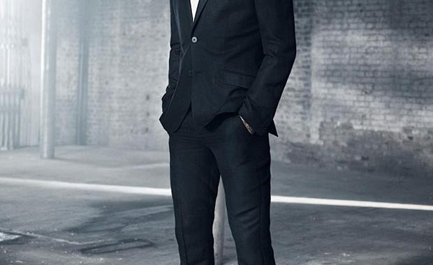 Costume noir H&M