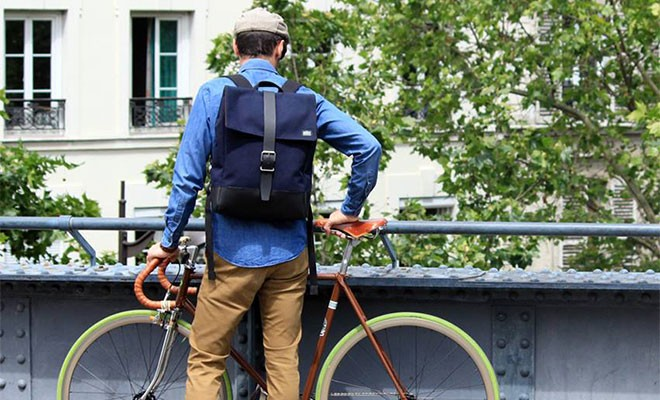 Ateliers Auguste, le sac pour homme made in France | Peah