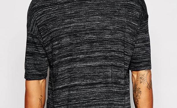 T-shirt oversize chiné Asos