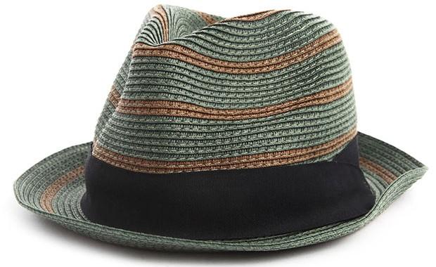 chapeau paille vert Scotch&Soda
