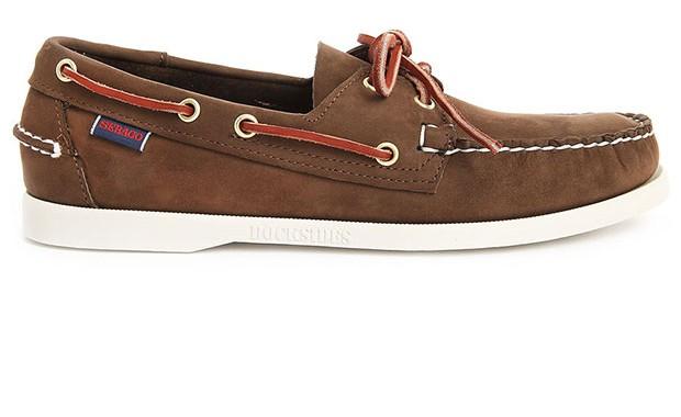 chaussure bateau marron Sebago