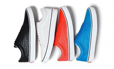 Supreme Vans sneakers cuir