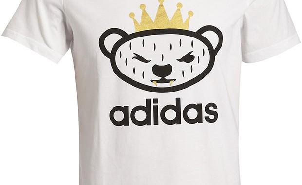 t-shirt bear Nigo x Adidas