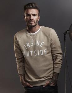 Beckham sweatshirt H&M