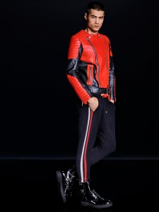 collection H&M Balmain biker