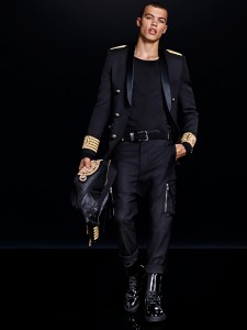 collection H&M Balmain look