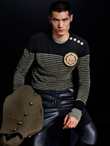 collection H&M Balmain pull