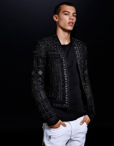 collection H&M Balmain veste