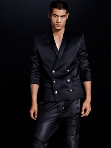 collection H&M Balmain blazer