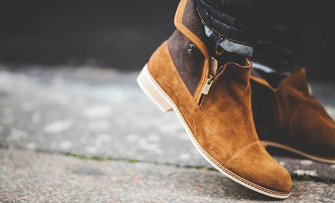 marque Numéro noir chaussures homme
