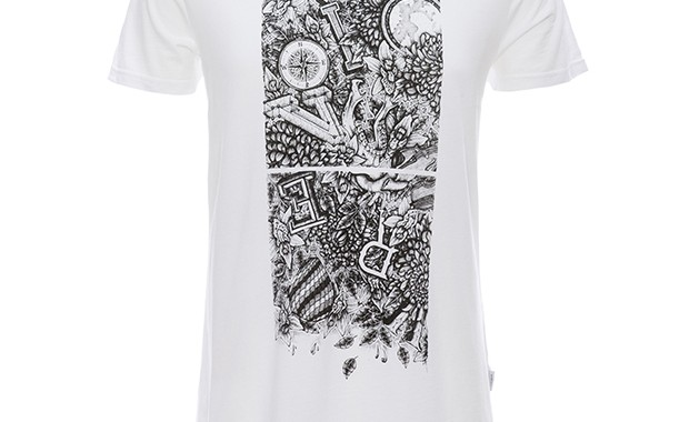 t-shirt Kaporal x Maksim