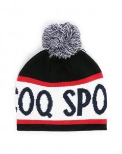 Bonnet vintage pompon Le Coq Sportif