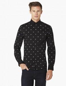 chemise noire Celio Star Wars