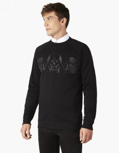 sweat noir Celio Star Wars