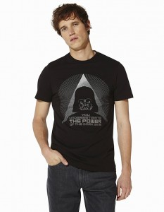 t-shirt noir Celio Star Wars