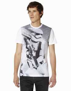 t-shirt blanc Celio Star Wars
