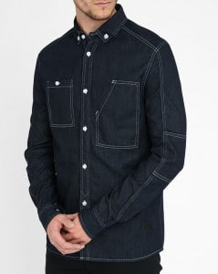 chemise en denim Eleven Paris
