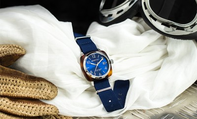 montre Briston Clubmaster bleue